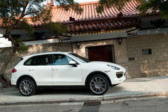 Porsche Cayenne S 2011 Model Royalty Free Stock Photography