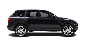 Porsche Cayenne side view Royalty Free Stock Images