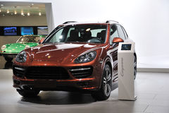 Porsche Cayenne SUV Stock Photography