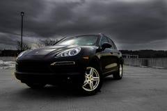 Porsche, Cayennepfeffer Stockfotos