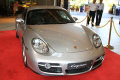 Porsche cayman Royalty Free Stock Images