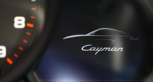 Porsche Cayman fotografering för bildbyråer