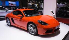 Porsche 118 cayman Στοκ εικόνες με δικαίωμα ελεύθερης χρήσης