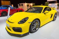 2016 Porsche Cayman GT4 Royalty-vrije Stock Afbeelding