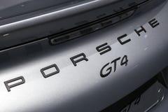 Porsche Cayman GT4 Obraz Stock