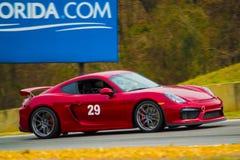 Porsche Cayman GT4 Stock Afbeelding