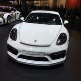Porsche Cayman GT4 royaltyfria bilder