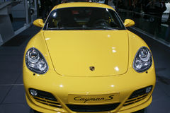 Porsche Cayman S Stock Photo