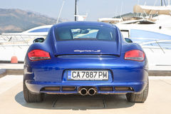 Porsche Cayman S Royalty Free Stock Image