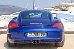 Porsche Cayman S editorial Stock Photography