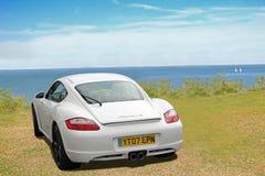 Porsche cayman sports Stock Images
