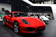 Porsche Cayman sportscar Royalty Free Stock Images
