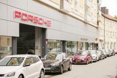 Porsche center munich Stock Images