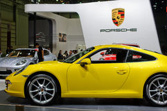 Porsche in Chinese show Royalty Free Stock Images