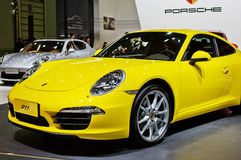 Porsche in Chinese show Stock Images