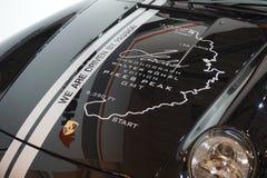 Porsche chronographWalter Roehl upplaga royaltyfria foton