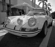 Porsche clássico 911 em uma feira automóvel Fotografia de Stock
