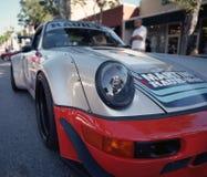 Porsche clássico 911 em uma feira automóvel Fotografia de Stock Royalty Free