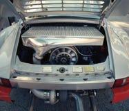 Porsche clássico 911 em uma feira automóvel Fotos de Stock Royalty Free