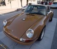 Porsche clássico 911 em uma feira automóvel Imagens de Stock Royalty Free