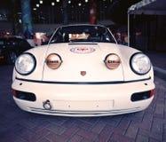 Porsche clássico 911 em uma feira automóvel Fotos de Stock