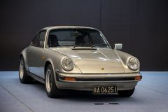 Porsche classic car stock image