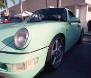 Porsche classique 911 à un salon automobile Images libres de droits