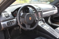 Porsche Cockpit Stock Images