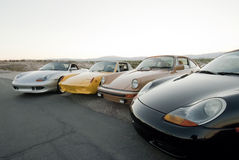 Porsche Collection Stock Photos