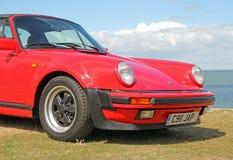 Porsche costiera Fotografia Stock Libera da Diritti
