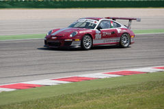 PORSCHE 997 CUP GTC RACE CAR Stock Images