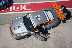 PORSCHE 997 CUP GTC RACE CAR Royalty Free Stock Images