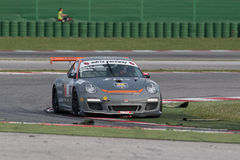 PORSCHE 997 CUP GTC RACE CAR Royalty Free Stock Photos