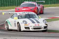 PORSCHE 997 CUP GTC RACE CAR Stock Photo