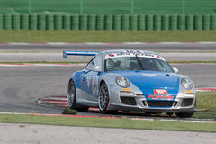 PORSCHE 997 CUP GTC RACE CAR Royalty Free Stock Photo
