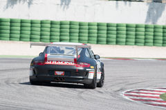PORSCHE 997 CUP GTC RACE CAR Royalty Free Stock Image
