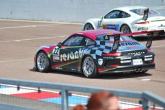 Porsche Cup Race. Thruxton 2015 Peter Kyle-Henney Sesanti Royalty Free Stock Images