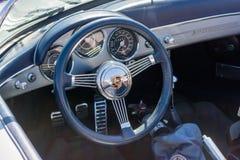 Porsche dashboard on display Royalty Free Stock Photos