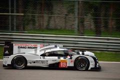 Porsche 919 de Hybride test van 2015 in Monza Stock Afbeeldingen