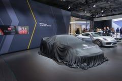 Porsche debut Stock Photo