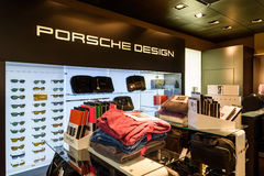 Porsche-Design-Speicher Stockbild