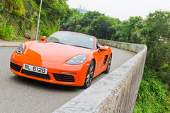 Porsche 718 Drive Day Stock Images