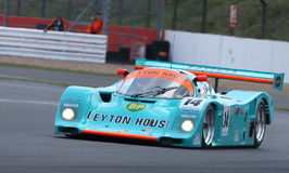 Porsche 962 Endurance car, night, Silverstone Classic 2014 Stock Photos