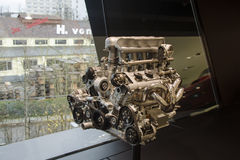 Porsche engine Royalty Free Stock Photography
