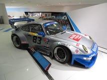 Porsche 911 evolution GT2 i det Porsche museet Fotografering för Bildbyråer
