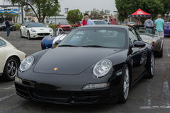 Porsche on exhibition at the annual event Supercar Sunday Royalty Free Stock Photo