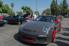 Porsche on exhibition at the annual event Supercar Sunday Royalty Free Stock Image