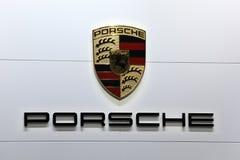 Porsche Företag logo Royaltyfria Foton