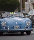 Porsche 356 1500 fartdåre 1955 Royaltyfri Fotografi
