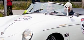 Porsche 356 1500 fartdåre 1955 Royaltyfri Bild